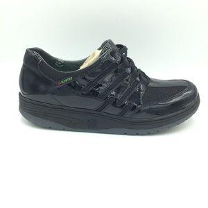 Sano by Mephisto Black Walking Shape-up Sneakers